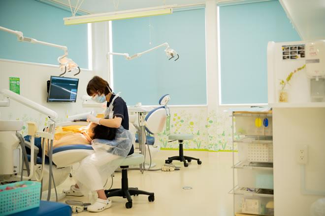 「ひまわり歯科」歯垢(プラーク)と歯石の除去