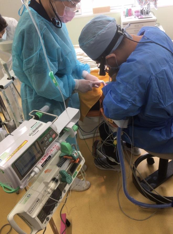 「ひまわり歯科」安全な全身麻酔のための当院の体制