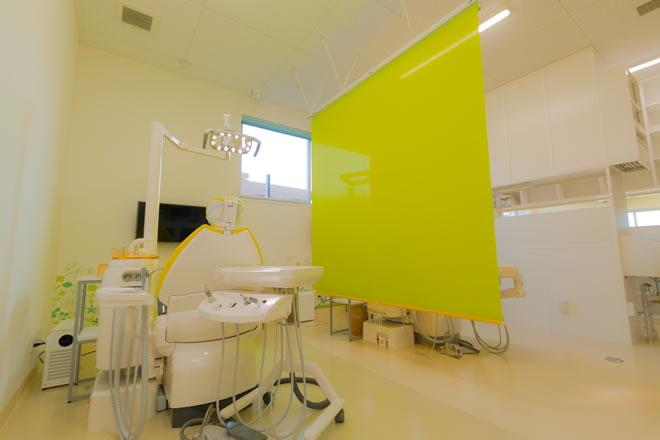 「ひまわり歯科」半個室と完全個室