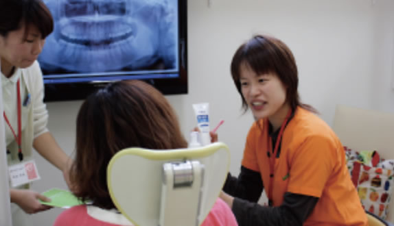 「ひまわり歯科」TSD法