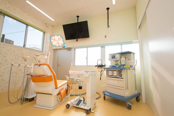 「ひまわり歯科」全身麻酔を用いた集中歯科治療を行っています