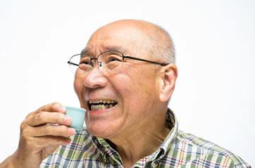 「ひまわり歯科」高齢者