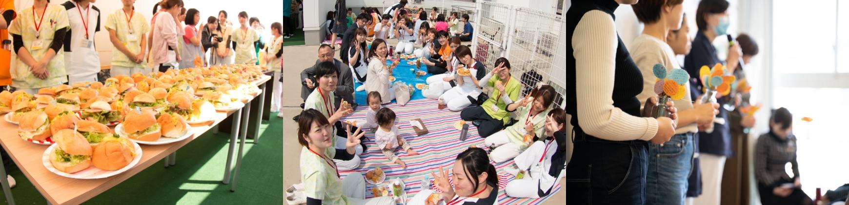 広島県安芸郡海田町の歯科医院「ひまわり歯科」風通しのよい職場へ「まかない」の開催